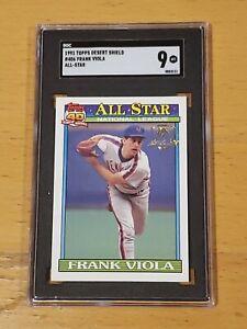 1991 Topps Desert Shield Frank Viola #406 SGC 9 Newly Graded
