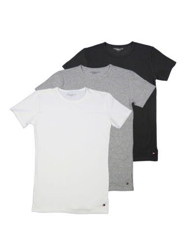 Tommy Hilfiger T-Shirt Hommes Manches Courtes CN Thé 3er Pack Premium Multicolore XXL