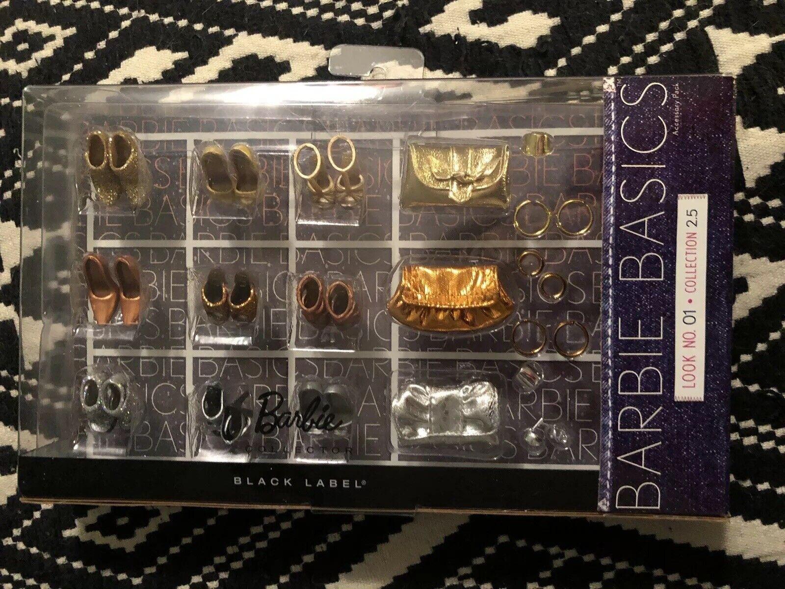 Accesorios De Barbie Basics Look Nº 01  conjunto 2.5 Totalmente Nuevo