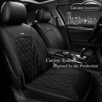 Diamond Black Universal Car Seat Cover Leather Subaru Impreza Outback Free Gift