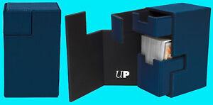 ULTRA-PRO-M2-1-DECK-BOX-BLUE-w-BLUE-storage-case-M2-card-dice-tray-2018-magic