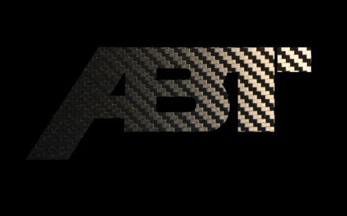 Aufkleber & Embleme 2x CARBON ABT LOGO Sticker VW Audi Aufkleber ...