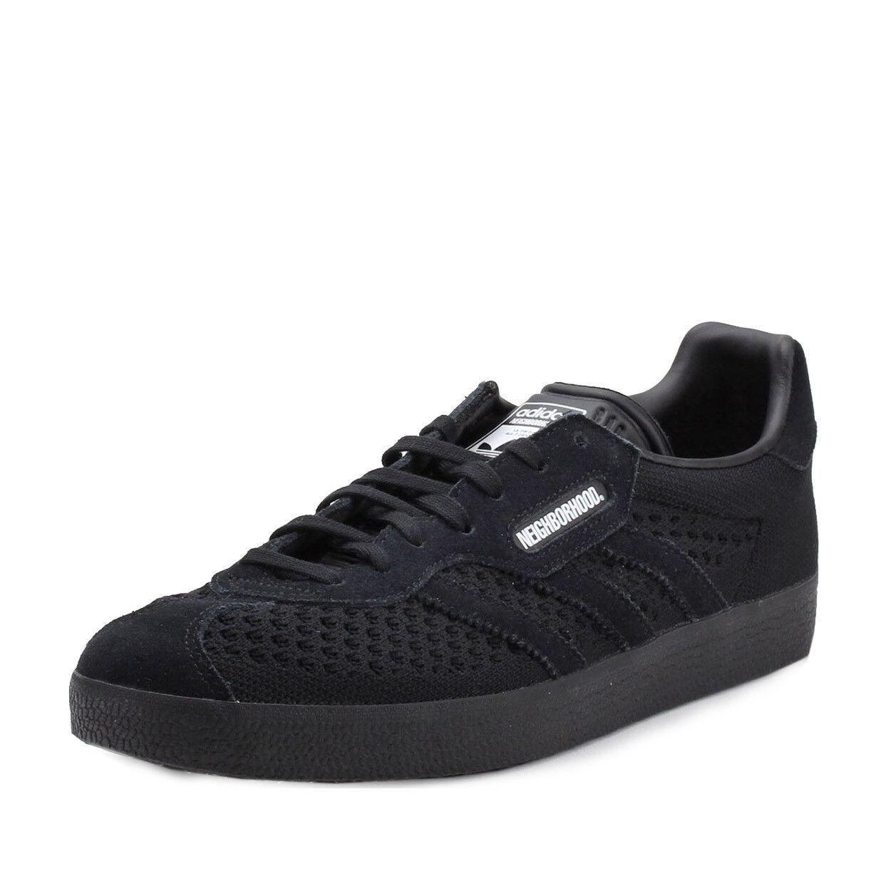 Adidas Para Hombre Gacela Super NBHD Barrio Negro Negro Barrio DA8836 5d4ff3