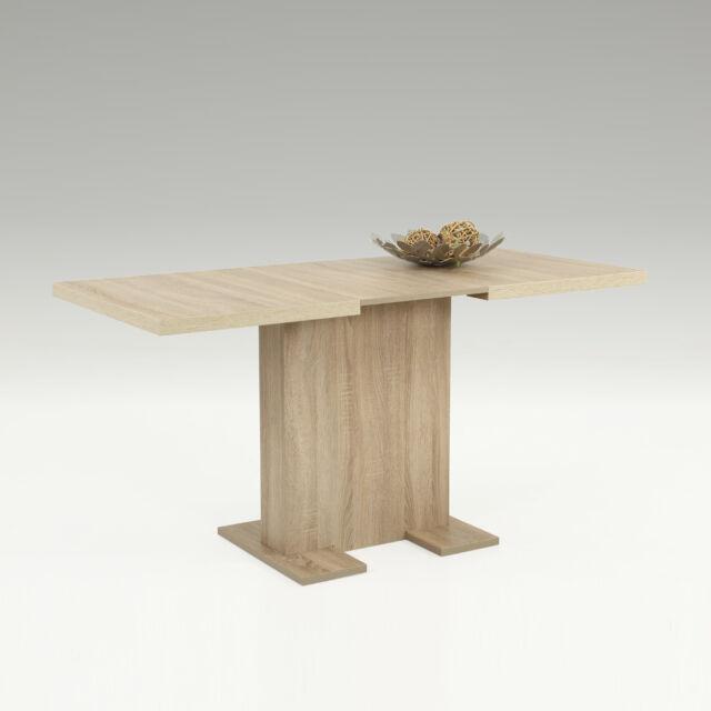 Esstisch Britt Tisch Küchentisch Esszimmertisch in Sonoma Eiche 110-150 cm