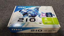 NEW Nvidia GeForce N210 512MB DDR PCI-e 2.0 Graphics Card 2x DVI