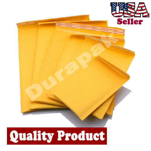 100 PCS 8.5 X11 #2 Bubble Lined Sealing Mailer Envelope Shipping Cushion Protect