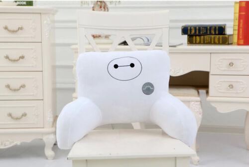 Baymax U Travesseiro De Corpo Pescoço Viagem Conforto Linda Boneca Robô Almofadas Apoio Lombar