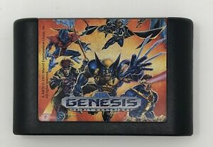 Sega-Genesis-X-Men-Authentic-Game-Only-Tested-amp-Working-See-Pictures