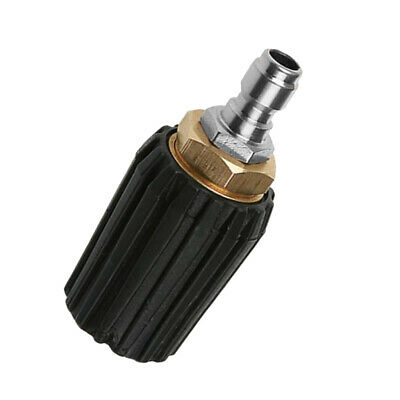 """1//4/""""Quick Plug Adjustable Pressure Washer 2in1 Changeover Spray Nozzle 1.7mm"""
