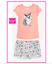 *NEW* JUSTICE GIRLS SIZE 10 12 SPARKLY CORGI TOP N DOLPHIN SHORTS OUTFIT SET