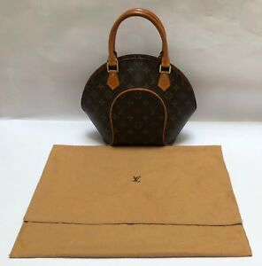 Image Is Loading Pre Owned Louis Vuitton Ellipse Handbag Purse With