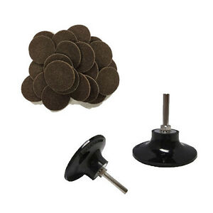 """50 - 3"""" Roloc Surface Conditioning Disc Coarse and Mandrel Disc Holder"""