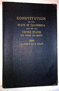 Constitution-of-the-State-of-California-and-of-the-United-States-1949-Antique