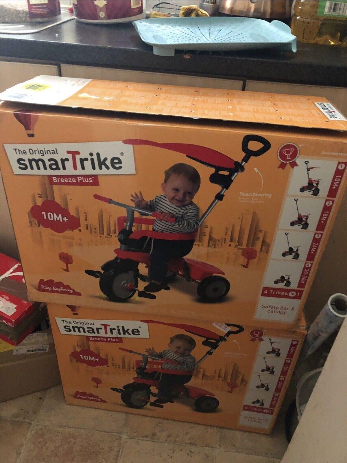 SmarTrike 3-in-1 Touch Steering Breeze Trike.