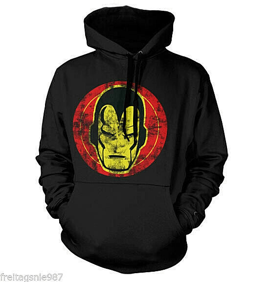 IRON MAN Icon MARVEL  hooded sweat-shirt cotton officially licensed