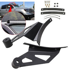 50inch Curved LED Work Light Bar Windshield Mounting Bracket For GMC HEAVY ROOF