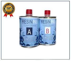 RESINA-EPOSSIDICA-TRASPARENTE-GR-800-BICOMPONENTE-A-B-DA-RESIN-PRO