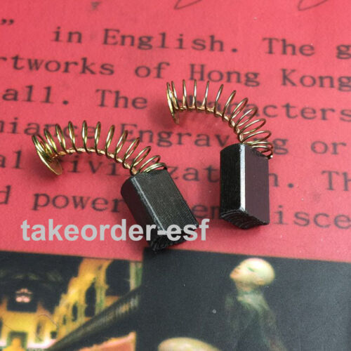 8 x 5 x 12mm Carbon Brushes for Generic Electric Motor 2 Pcs
