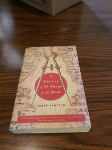 A History of the World in 12 Maps by Brotton, Jerry