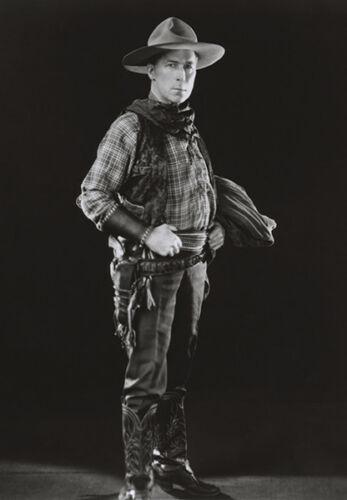 William S Hart Movie Star Portrait Poster