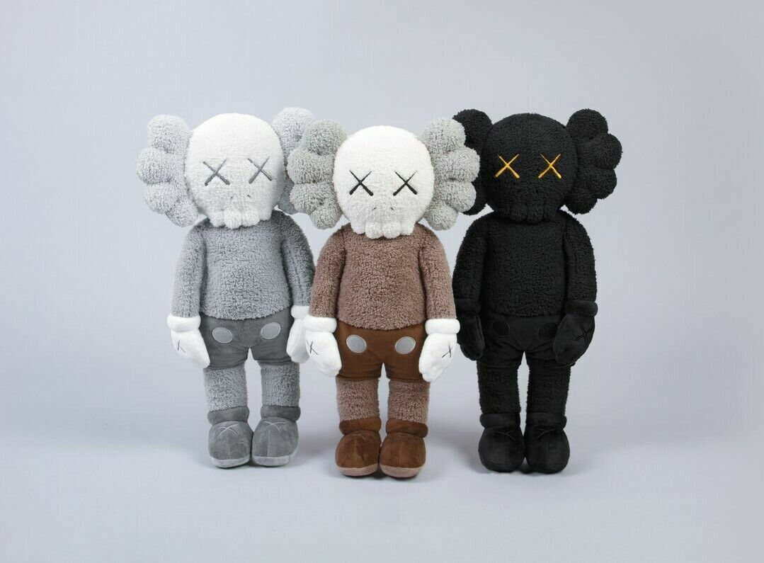Preorder -3 PC PC PC KAWS HOLIDAY HONG KONG Limited 20  Plush Set 0185fe