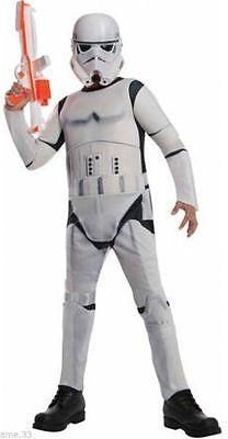 NWT Disney STAR WARS Stormtrooper Costume sz S L The Force Awakens NWT M
