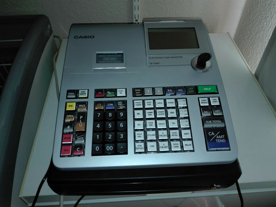 Kasseapparat Casio SE 5400