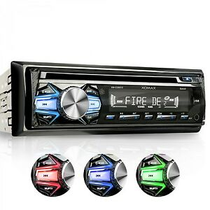 RADIO-DE-COCHE-AUTORRADIO-CON-LECTOR-CD-BLUETOOTH-MANOS-LIBRES-USB-SD-MP3-1DIN