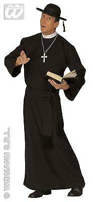 48 50 52 54 Priester Pfarrer Pastor Gewand in TOP QUALITÄT Herren Kostüm in Gr