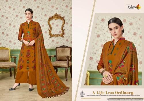 3 Pcs Pashmina Suit Winter Collection Asian Indian Pakistani Suit