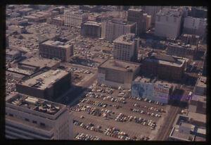 35 mm color slides lot of 4 * Los Angeles CA AERIAL VIEW buildings freeways
