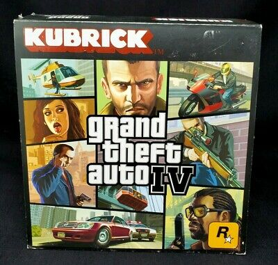 NEW GTA V Heist Edition Kubrick Set by Rockstar Games Grand Theft Auto IV /& V