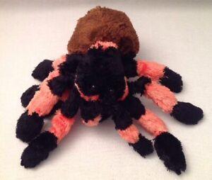 Tarantula Stuffed Animal, Wild Republic Cuddlekins Tarantula Spider 12 Plush Toy Black Orange Halloween Ebay