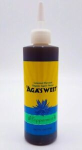 Organic-Agave-Nectar-Peppermint-Flavor-Syrup-Low-Glycemic-Vegan-12-oz