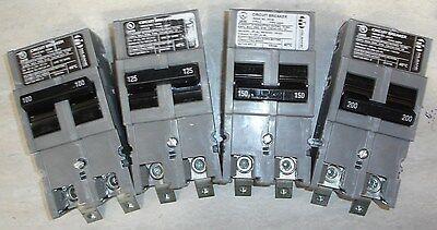 Milbank Unicorn UQFPH175 150 200 amp Westinghouse WFPH GDP HQFP Circuit Breaker