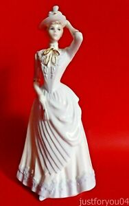 Coalport-Chantilly-Lace-Dignity-1991-Figurine-Modelled-By-John-Bromley