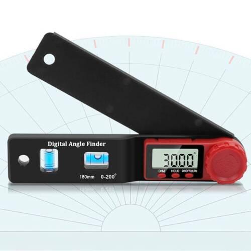2-in-1 Elektronischer digitaler Winkelmesser Winkelmesser Goniometer Wasserwaage