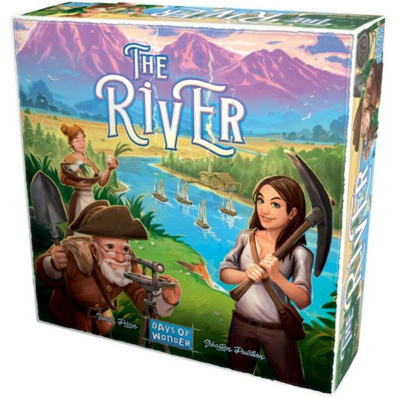The River Boardgame - New