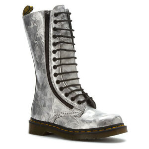 Details about Dr. Martens Women's 9733 2 zip 1B99 Style Silver Jewel US 6 EU 37 UK 4 LAST!!!