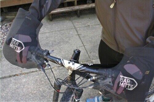 NEW Bar Mitts Mountain Commuter Pogie Handlebar Mitten//One size