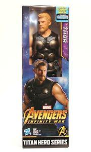 Marvel-Titan-Hero-Series-Avengers-Infinity-War-THOR-12-034-Action-Figure-NEW
