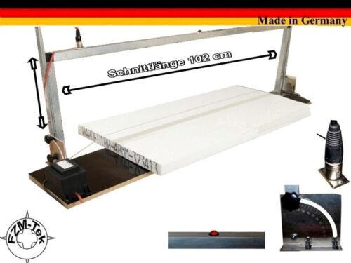 Styroporschneidegerät 102 cm Gr.S Styroporschneider Styropor Cutter WDVS H10974