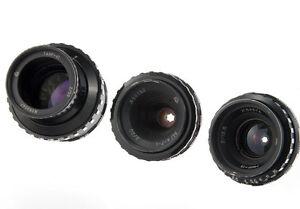 Set-3-lens-Kiev-16U-camera-Mir-11-Vega-7-1-Tair-41-4-Black-Magic-Pocket-BMPCC