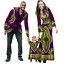 thumbnail 3 - New Fashion Matching Clothes Brand Father Mother and Son Baby Africa V11592