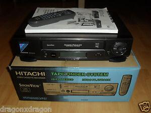 Hitachi-VT-FX850E-VHS-Videorecorder-komplett-in-OVP-2-Jahre-Garantie