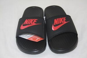 best sneakers 5b947 cd89f Image is loading New-Nike-BENASSI-JDI-Men-039-s-Black-