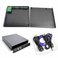 IDE/Pata TO USB 2.0 External Slim Laptop CD/DVD Drive Enclosure Case Casing