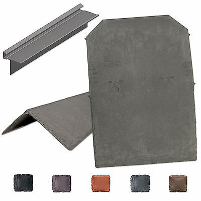 Tapco Synthetic Slate Roof Tile Lightweight Strong Plastic Roofing Shingle Ebay