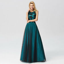 9a6c134914c Ever-Pretty Elegant Round-neck Long Evening Dress Lace Formal Party Dress  07545