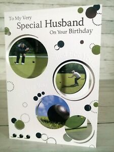 To My Very Special Husband On Your Birthday Card, Bowls Bowling